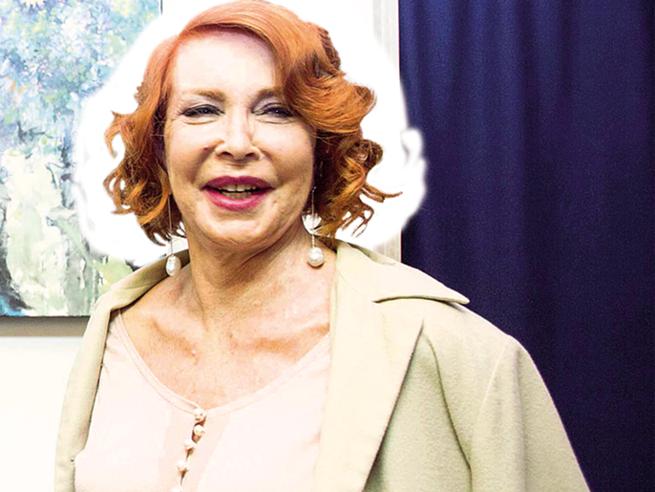 Marina Ripa di Meana: «Con Scalfari sul mio divano,  provai a sedurlo e lui si ritrasse» Le foto