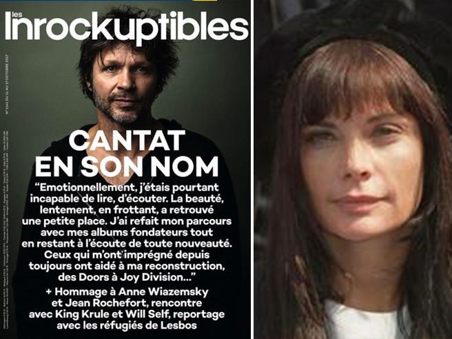 Uccise Marie Trintignant,  copertina a Cantat Rabbia in  Francia