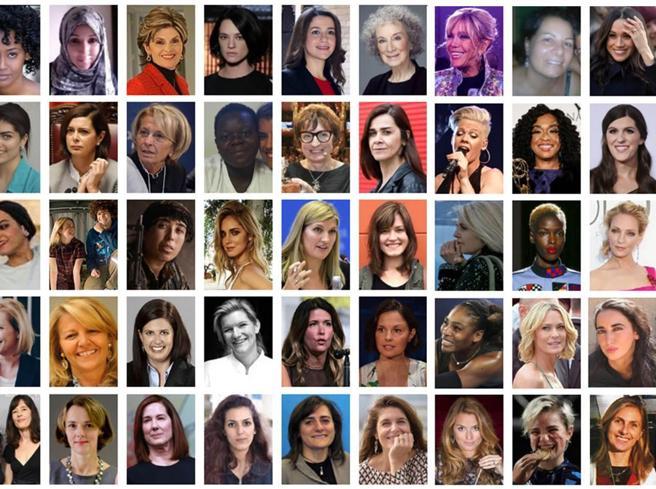 Le 50 donne del 2017 secondo il Corriere