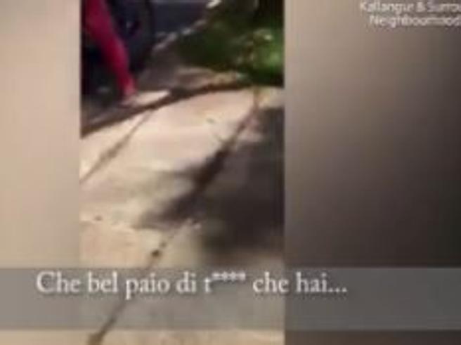Australia: giovane madre filma le molestie